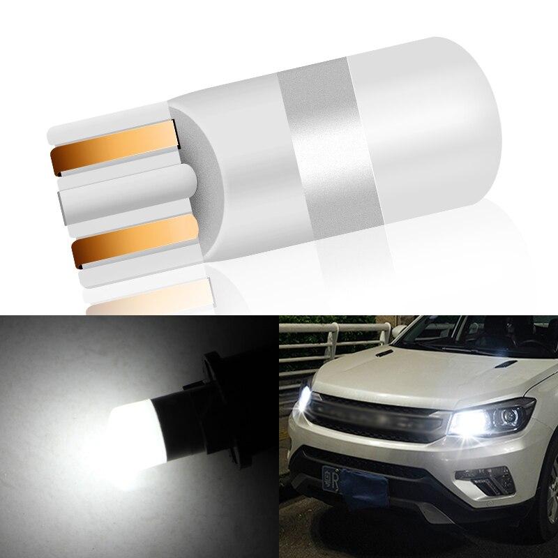 1x 3D Ceramics T10 LED W5W LED Bulbs 194 168 Canbus Error Free Auto Lamp 501 Car Lights Super Bright Bulb 12V 5500K Car Styling