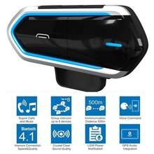 Bluetooth-гарнитура для мотоциклетного шлема B35, Bluetooth 4,1