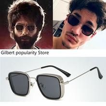 style rayeds Populars Design Man's Brand designer mens gold frame glasses Fresh steampunk S
