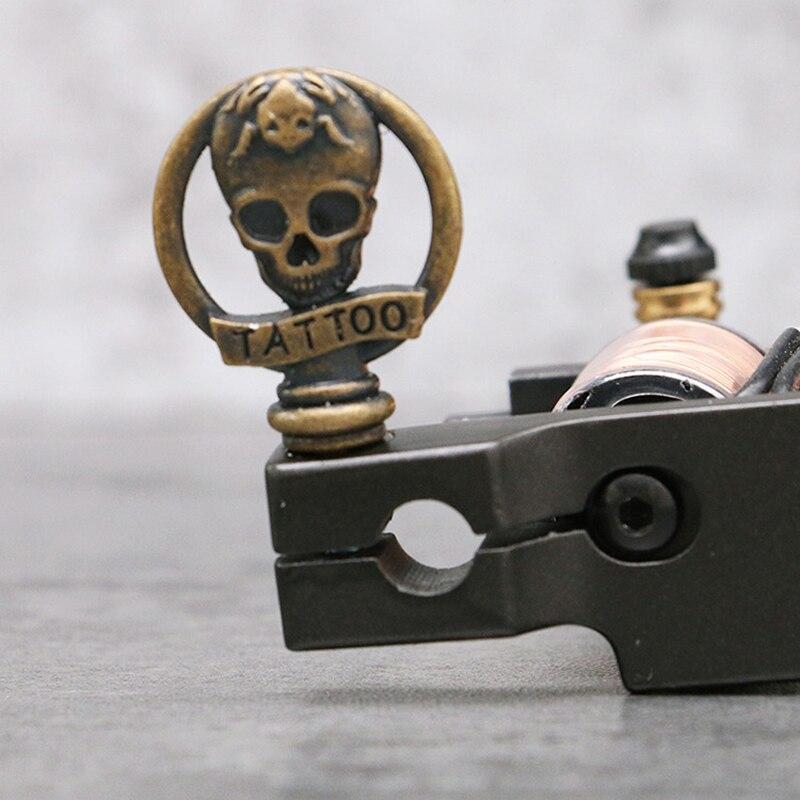 Microblading Pro 2 Pieces Skull Tattoo Handle Lock Screw Parts Tattoo Tools Accessories For Tattoo Machine Gun Tattoo Supplies