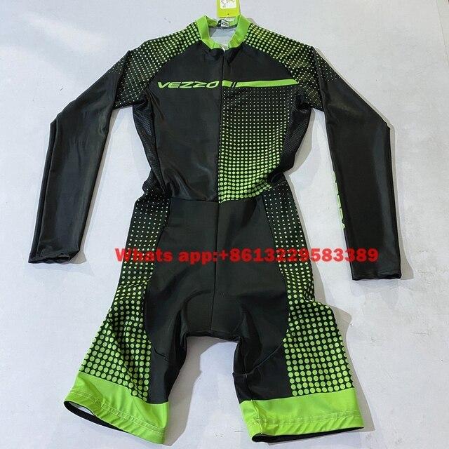 Vezzo bicicleta das mulheres tri terno triathlon terno 2020 aero terno skinsuits mtb camisa de ciclismo ao ar livre roupas esportivas ropa ciclismo 4