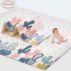 Alfombra de juego de bebé Miamumi, alfombra de rompecabezas para chico, Alfombra de juego de 180x200cm, alfombrilla de 70x78 pulgadas para niños, Alfombra de rompecabezas Infantil, Alfombra de juego de espuma