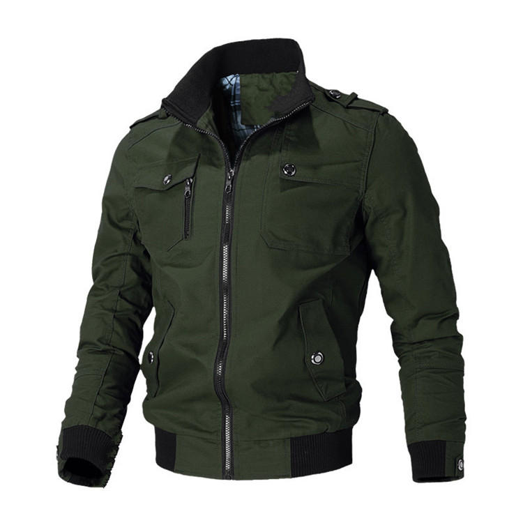 Hf8642796a3c44aaf935fc44f649b3025Y Mountainskin Casual Jacket Men Spring Autumn Army Military Jackets Mens Coats Male Outerwear Windbreaker Brand Clothing SA779