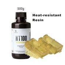 Résine résistante à haute température pour bijoux, liquide de résine UV 3d, pour Elegoo Anycubic, résine d'imprimante 3d, HT100