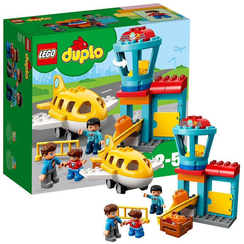 Duplo Series 10871 My Flight Porn Building Blocks Toy