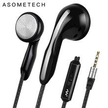 뜨거운 판매 이어폰 전화에 대 한 마이크와 고품질 사운드 이어폰 유선 헤드셋 3.5mm 오디오 이어폰 아이폰에 대 한 삼성 전자 LG 전자