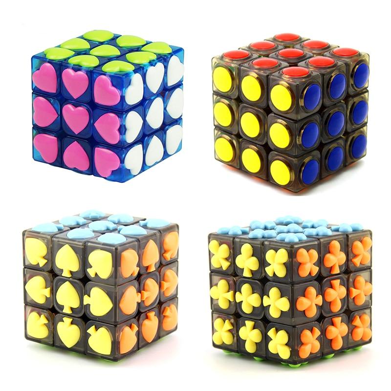 Профессиональный кубик 3х3х3 5,7 см, скорость для волшебной антистрессовой головоломки, нео куб, волшебная наклейка для детей, игрушки, оптовая продажа Головоломки      АлиЭкспресс