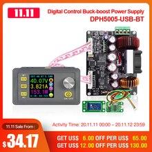 RD DPH5005 Buck boost dönüştürücü sabit gerilim akım programlanabilir dijital kontrol güç kaynağı renkli LCD voltmetre 50V 5A