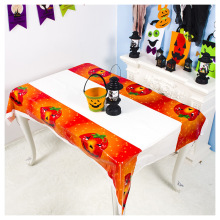 Yooap New Halloween printed tablecloth pvc disposable Bar tabletop atmosphere decoration