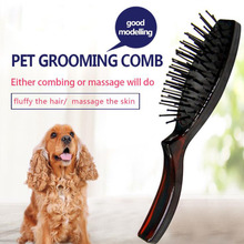 Dogs and Cats Slicker Brush for Removing Mats Tangles Loose Hair Pet Massage Grooming Comb Long or Short Dog