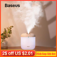 Baseus Humidifier Aroma Diffuser Difusor For Home Office 600 ml Large Capacity Air Humidifier Mist Maker Fogger with LED Light недорого
