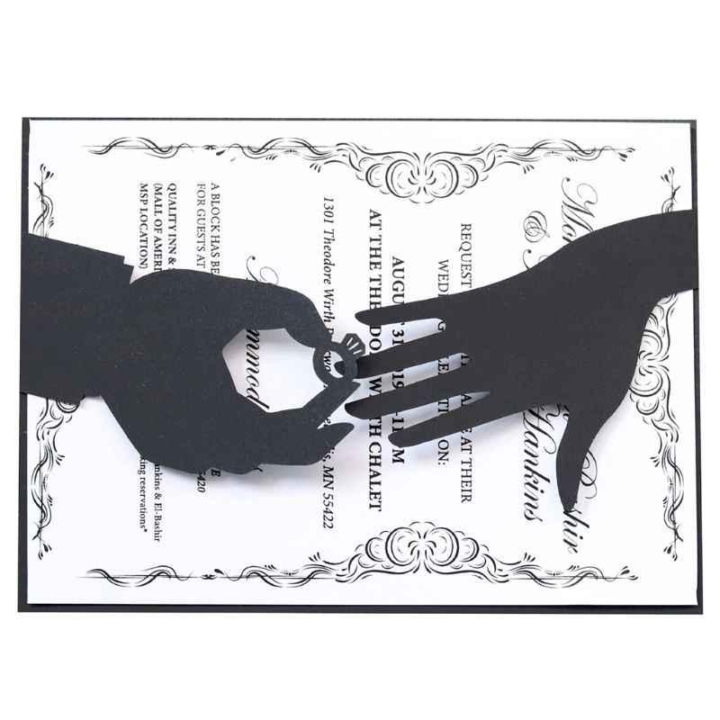 Engajado Anel Corte De Metal Morre Stencil DIY Álbum Scrapbooking Selo de Gravação Do Cartão de Papel Craft Decor M68E