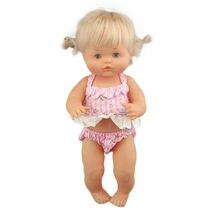 2020 nova adorável biquíni para 42 cm nenuco boneca 17 polegadas roupas de boneca do bebê