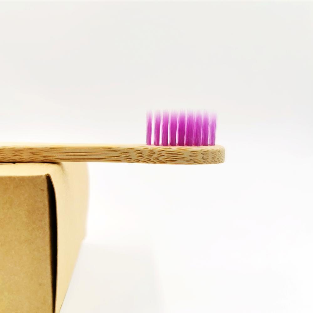 Natural Bamboo Toothbrush Set  5