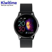 Kiwitime Galax Horloge IP68 Waterdicht Smart Horloge Ecg Hartslagmeter Fitness Tracker Polsband Smart Band Sport Polshorloge