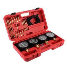 Fuel-Vacuum-Carburetor-Synchronizer-Gauges-Set Motorcycle for 4-Cylinder Balancer Shockproof-Tool