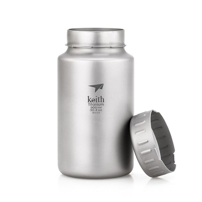 900 мл бутылка для воды титановая бутылка герметичная портативная бутылка с фруктовым лимоном для питья сока Спортивная велосипедная бутылк... - 3
