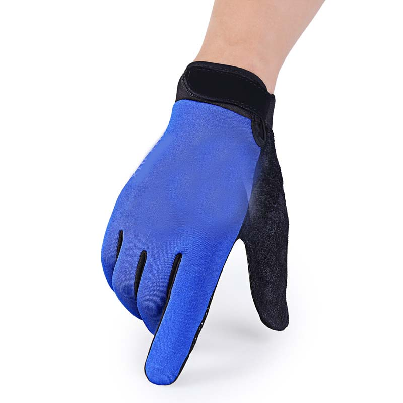 Ladies' Autumn And Winter Plus Velvet Thick Warm Warm Cold Riding Driving Non-slip Gloves