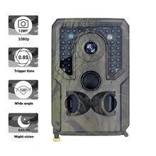 Cámara de caza PR400 de 12MP, 1080P, infrarroja, visión nocturna, cámaras de Vida Silvestre, caza, cámaras de rastreo, juego de exploración