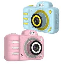 Камера подарки Видео с картой памяти DSLR видеокамера двойной объектив мультфильм дети игрушки ударопрочный Мини цифровой ABS 2,4 дюймов экран