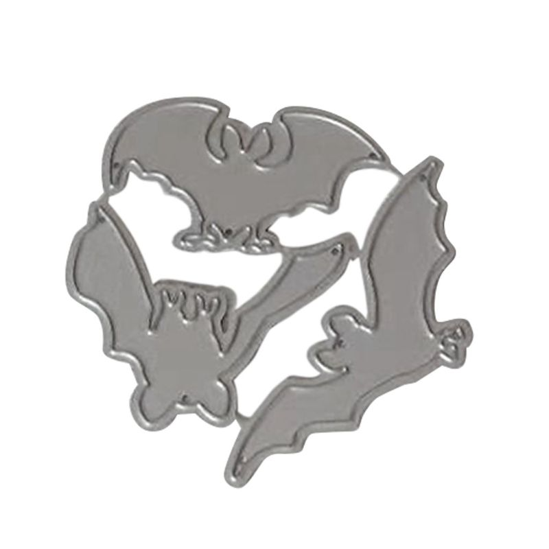 <font><b>Halloween</b></font> Bat Metal Cutting <font><b>Dies</b></font> Stencil DIY Scrapbooking Album <font><b>Stamp</b></font> Paper Card image