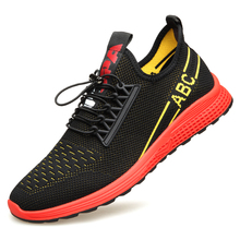 цена на Men's Summer Shoes Sneakers New Plus Size 38-44 Comfortable Men Casual Shoes Mesh Breathable Loafers Flats Shoes Footwear E0153
