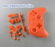 1 conjunto de substituição colorido para xbox um conjunto completo fino habitação capa escudo casos com botões kits para xbox um s controladores