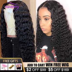 Парик из натуральных волос с крейковой волной 4x4, парик из 100% натуральных перуанских человеческих волос с кружевом спереди, парик для черных...
