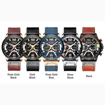CURREN Mens Sport Casual Waterproof Wrist Watch 6