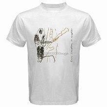 New Eric Clapton 24 Nights Album Cover Men White T-Shirt Size S-3Xl Summer Men Fashion Tee Fashion T Shirt