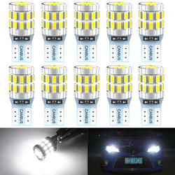 T10 W5W LED Canbus Bulbs 168 194 Car Parking Lights For Toyota RAV4 Yaris Camry 2007 2008 2009 Corolla Auris Avensis Prius 6000K