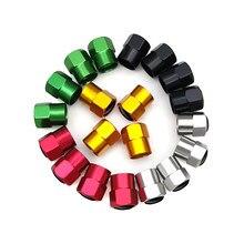 4 pçs metal roda de pneu carro válvula caule tampões para chery fulwin qq tiggo 3 5 fora t11 a1 a3 a5 amuleto m11 eastar elara emgrand ec7