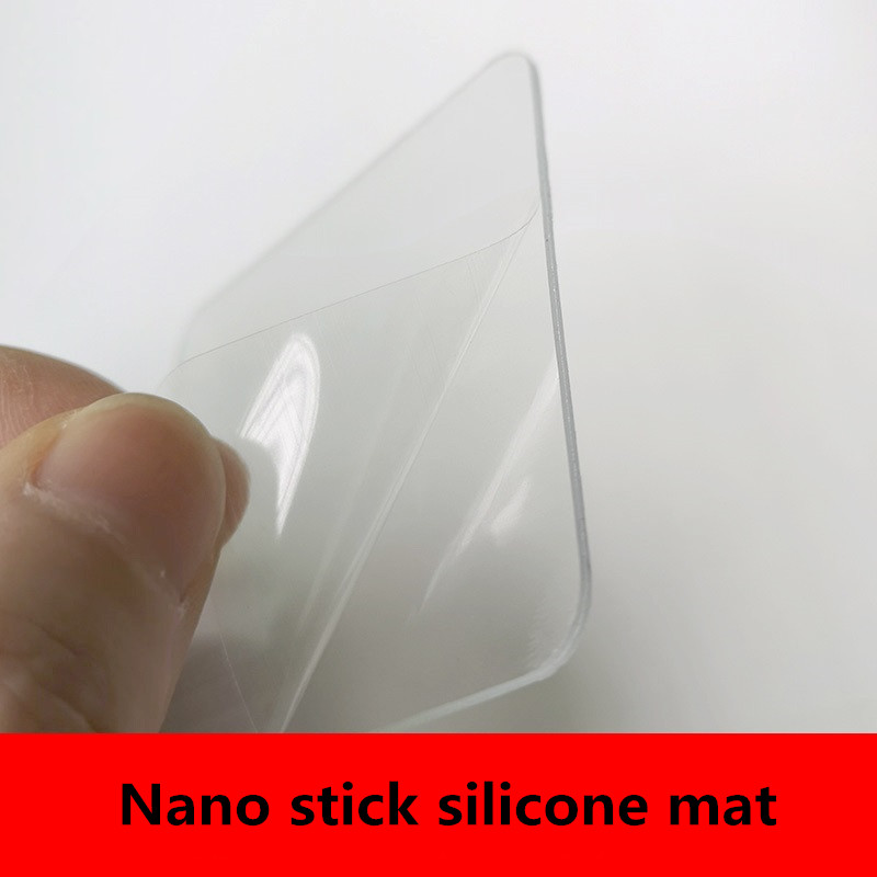 Sticky silicone pad Nano sticker , washable and reusable mats mobile phone holder For car dashboard office house glass mirror