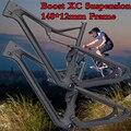 Boost 148x12 Enduro 275 29er carbone Suspension complète cadre de vélo carbone vtt cadre de VTT vtt cadre carbone 650B cyclisme