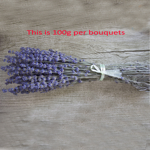 Image 5 - 100g dried natural flower bouquets dried natural Lavender flower bouquet&lavender flower Bunches