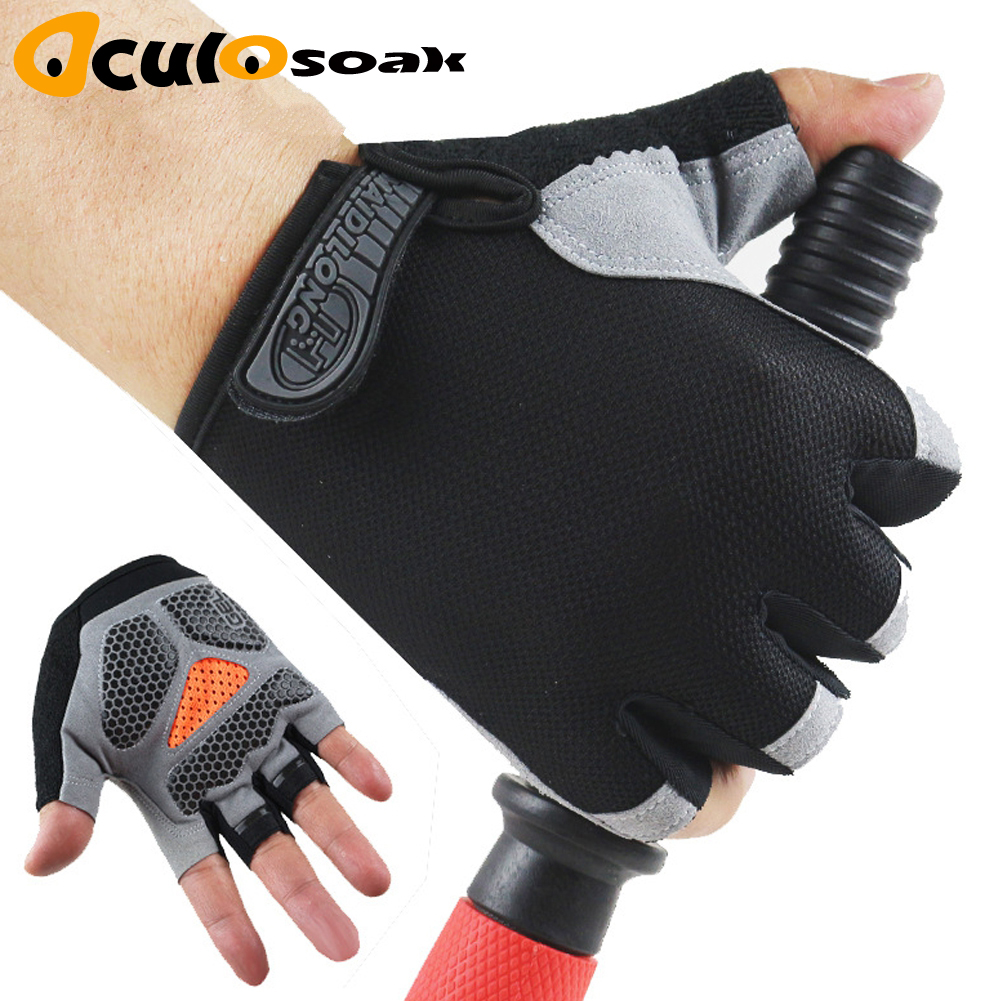 Gym Body Building Training Sports Fitness WeightLifting Gloves For Men Women Running Hiking Exercise Cycling Yoga Glove Guantes