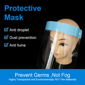 Safety Face Shield Face Protection Dustproof Masks Anti Splash Saliva Proof Mask Anti-dust Respiratory Tract Protective Mask бусы родохрозит огранка 53 59 см хир сталь