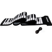 USB 88 touches MIDI retrousser clavier de Piano électronique Silicone Flexible professionnel(China)