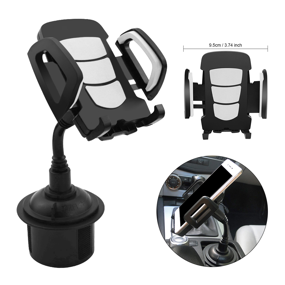 Universal Car Cup Holder Stand for Phone Adjustable Drink Bottle Holder Mount Support for Smartphone Mobile Phone Accessories