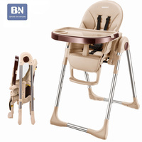 Baby Kids Highchair 100% leather Pad Stroller Cushion Mat Chair Cushion Feeding Booster with colorful padded Baby High Chair