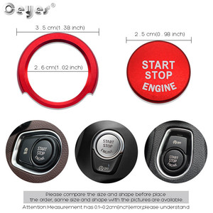 Image 4 - Ceyes For Bmw F20 F21 F30 F31 F10 Car Styling Stickers Engine Start Stop Button Rings Covers Case Decoration Switch Accessories