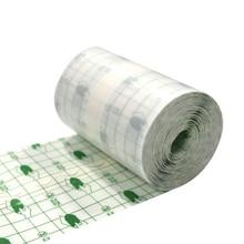 1Roll Practical Wound Dressing First Aid Fixation Tape High Quality PU Transparent Waterproof Adhesive Film Roll Medical Bandage цена в Москве и Питере