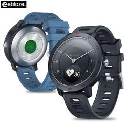 Nowy Zeblaze hybrydowy Smartwatch Monitor ciśnienia krwi tętno inteligentny Monitor aktywności fizycznej w zegarku śledzenie snu inteligentne powiadomienia