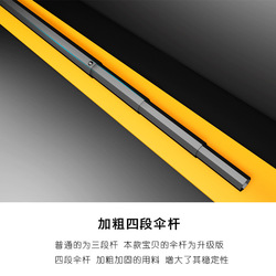 Yu Bao Vinyl odporne na słońce kreatywne podwójne wieże deszcz lub połysk 2 w 1 trzy składany Parasol Jiu He Ban parasol parasol Custo na