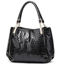 Yeni timsah PU deri lüks çanta kadın çanta tasarımcısı çanta ünlü marka kadın çanta büyük kapasiteli Tote çanta kadınlar için sac