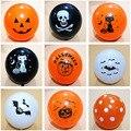 20 шт./лот, воздушный шар в виде черепа, летучей мыши, тыквы, украшение для Хэллоуина, надувной воздушный шар, детские игрушки для Хэллоуина, ук...