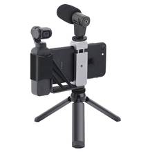 Foldable Phone Holder Adapter Clip Selfie Mount Metal Tripod With Strap for DJI Osmo Pocket 2 Handheld Gimbal Camera Accessories
