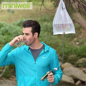 Image 5 - Miniwell L630 الشخصية التخييم تنقية المياه تصفية القش للبقاء أو لوازم الطوارئ