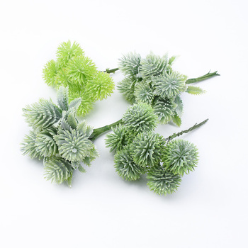 6pcs Plastic floristics artificial plants wedding decorative flowers needlework brooch vases for home decor christmas garland 2