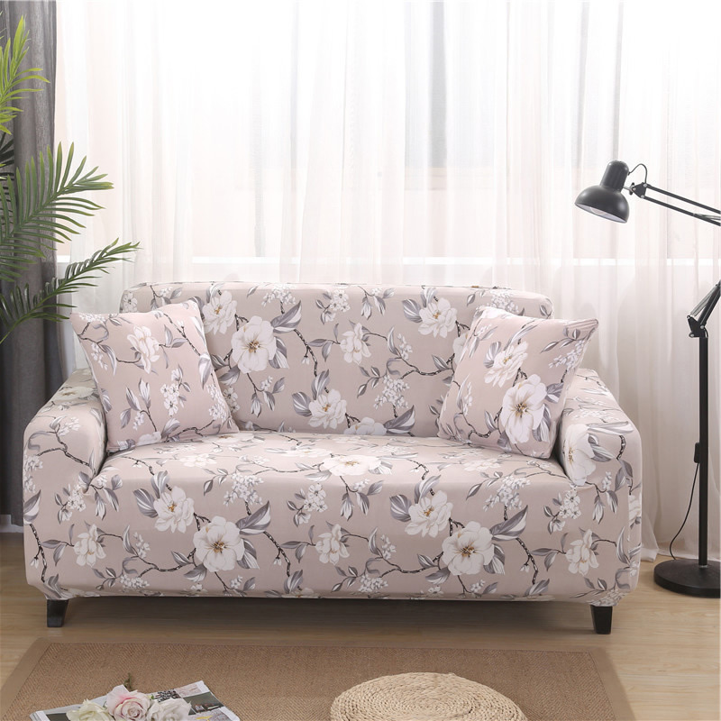 Sofa Cover Elastic Polyester 1/2/3/4 Couch Slipcover bench covers for Living Room Furniture Protector Spandex sofa chair cover|Sofa Cover| |  - title=